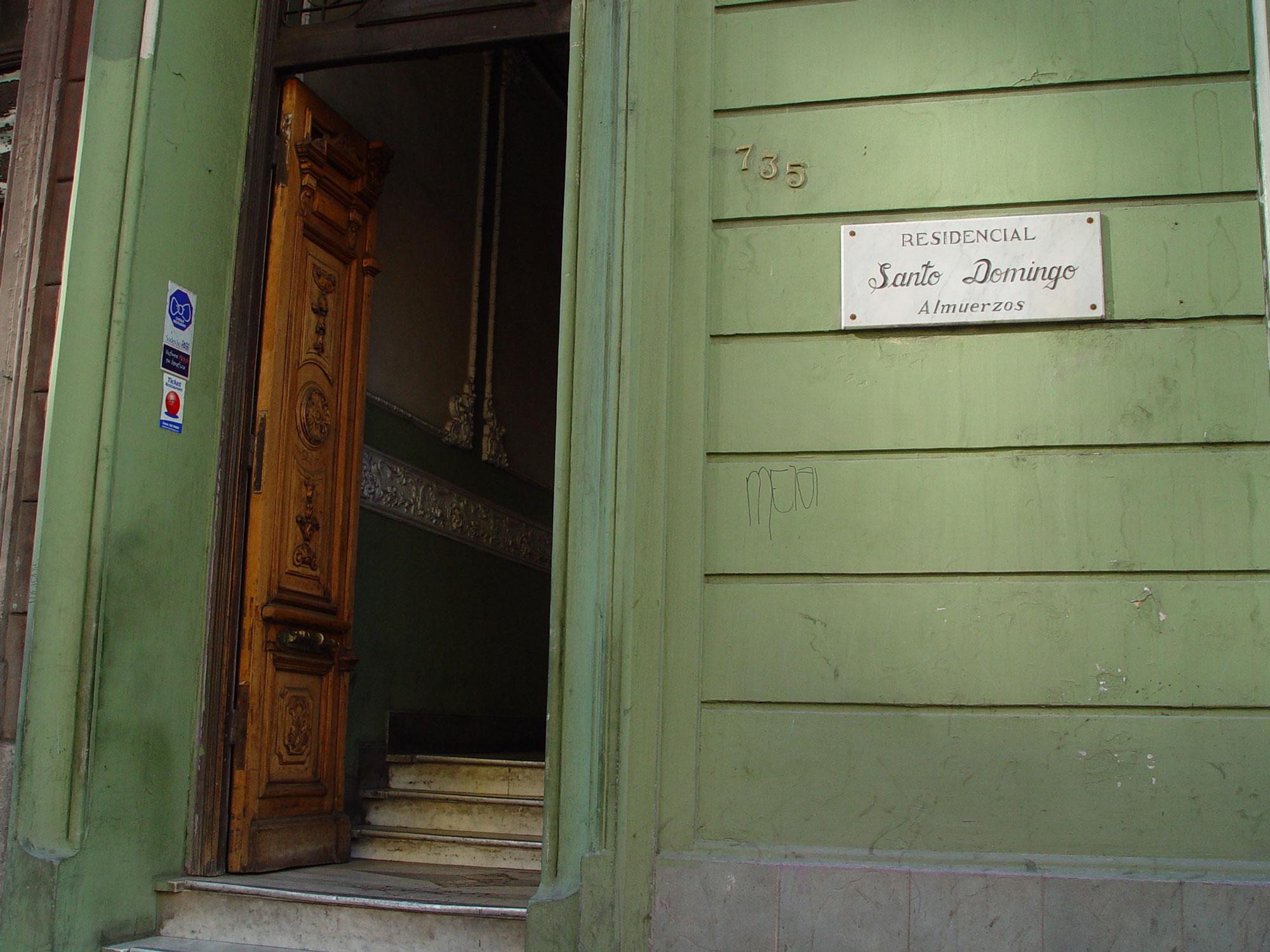 Déjame Entrar, Te lo Pido Santo Domingo